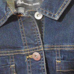Blue jean Jacket Reitmans Jeans Ladies Size 8